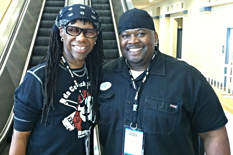 BAM AND NILE RODGERS